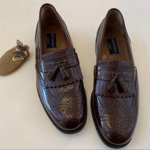 Bostonian Classics Brown Tassel Loafers 10.5